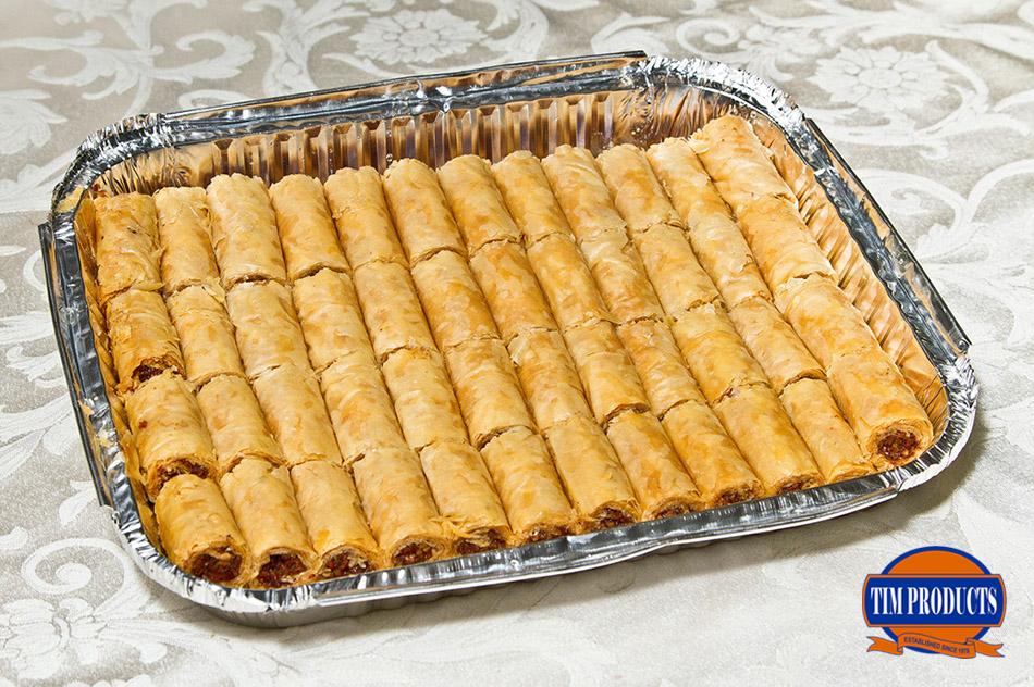 Mini baklava rolls (48pcs)