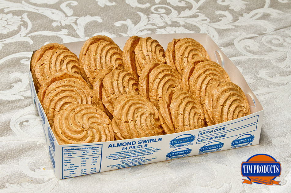 Almond swirls (24pcs)