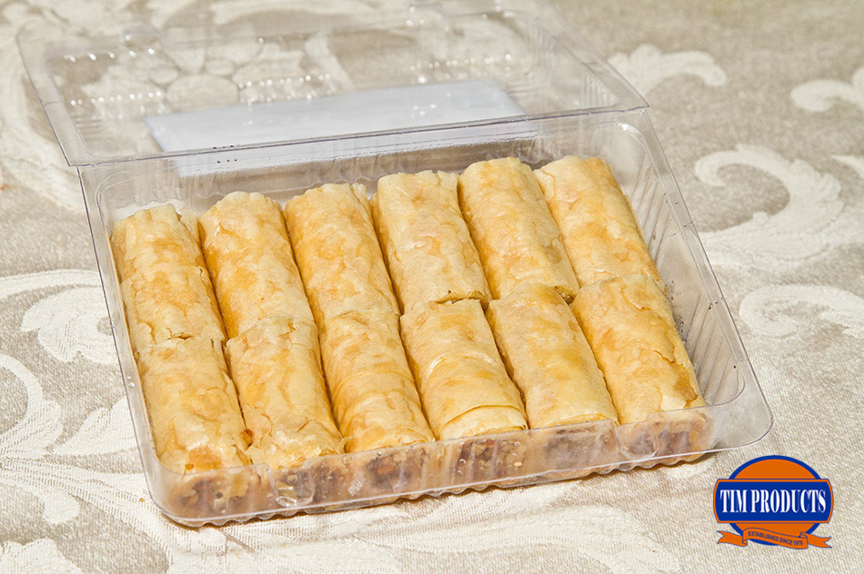 Mini baklava rolls (12pcs)